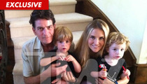 Charlie Sheen & Brooke Mueller's Kids -- Daddy to the Rescue