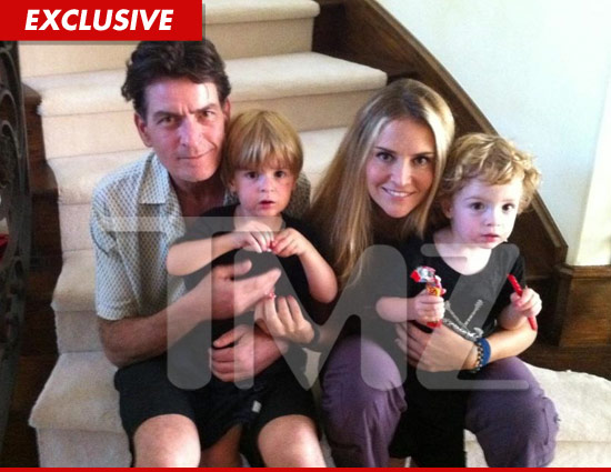Charlie Sheen & Brooke Muellers Kids