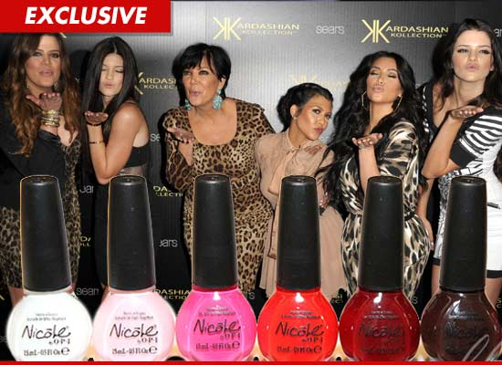 Kardashian Nail Polish