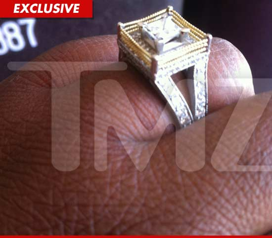 WWE diva Kharma engagement ring