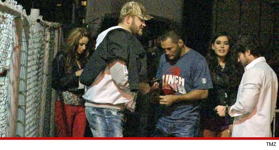 UFC Badass Dan Henderson pulling Chicks with Brad Penny in Hollywood