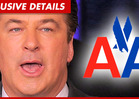 Alec Baldwin -- Kicked Off by American Airlines Plane Captain