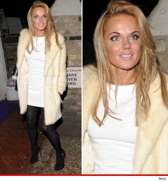 Ginger Spice Geri Halliwell confused for Lindsay Lohan