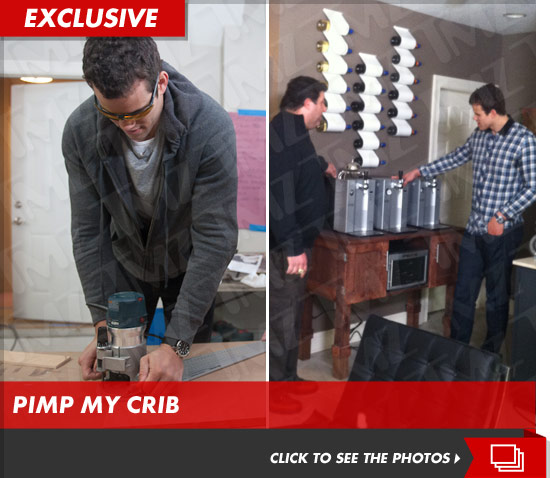 Kris Humphries on Man Caves with Tony Sir