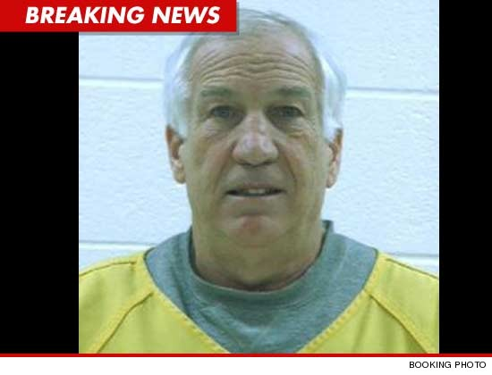 Jerry Sandusky Mug Shot