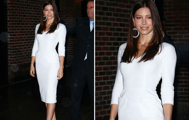 Jessica Biel Is White Hot!
