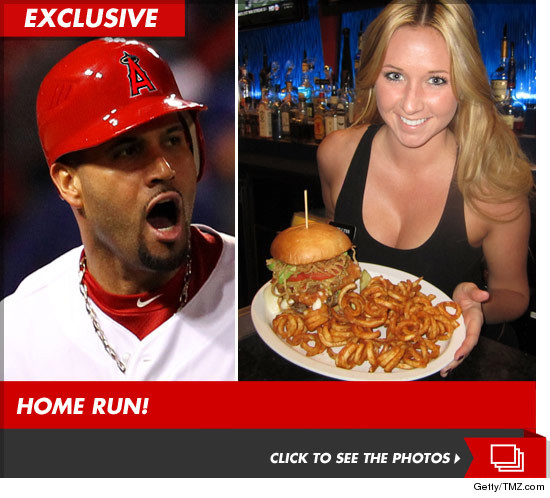The Albert Pujols machine burger from OC Sports Grill