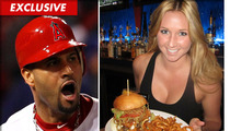 Albert Pujols Hamburger -- Quarter Pound of Meat for the Quarter of a Billionaire
