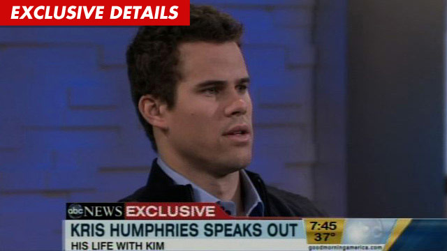 Kris Humphries upset at Good Morning America