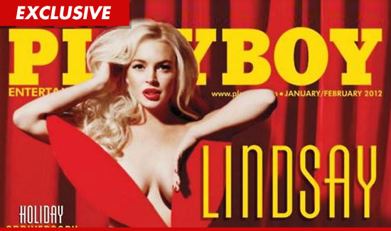 Lindsay Lohan Playboy Cover