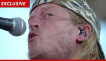 Puddle of Mudd Singer Wesley Scantlin -- Taxes? What Taxes?