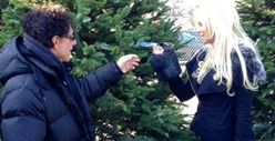 Neal Schon &amp; Michaele Salahi -- Christmas Gift Strikes Rockin&#039; Chord for Kids
