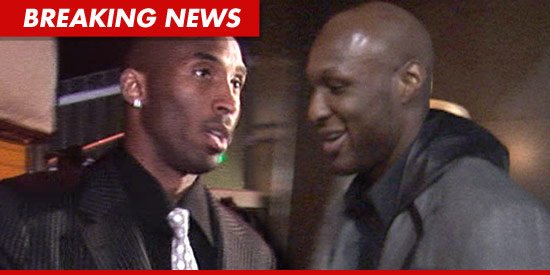 Kobe Bryant is blasting rumors about Lamar Odom