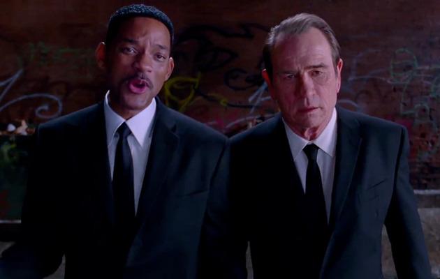 """Men in Black 3"" Trailer: Will Smith & Tommy Lee Jones Are Back!"