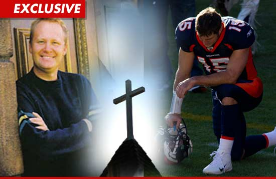 Tim Tebow and Pastor Wayne Hanson