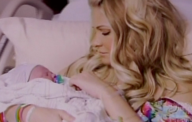 Kim Zolciak: Baby's First Reality Show Moment