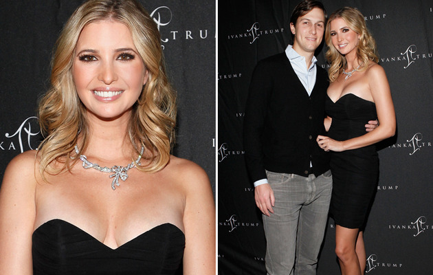 Ivanka Trump Defies Gravity in Little Black Dress