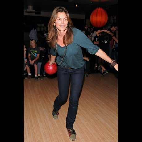 Celebrities Bowling bowling b