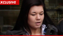 'Teen Mom' Amber Portwood -- Facing 2 Years in Jail for Being a Crappy Person