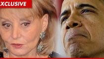 Barbara Walters to President Barack Obama:  'I'm Retiring Next Year!'