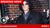 Howard Stern Snags 'America's Got Talent'
