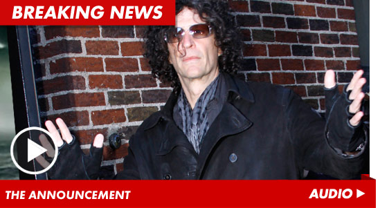 Howard Stern Snags 'America's Got Talent' | TMZ.