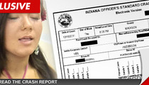 'Teen Mom' Star Amber Portwood Car Crash -- Rear Ender Offender