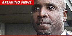 Barry Bonds -- 30 Days House Arrest for Lying About Steroids