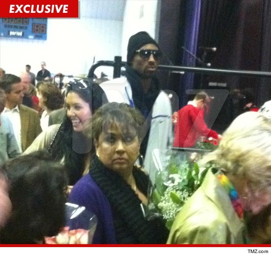 Kobe Bryant and Vanessa Bryant attend a recital