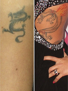 Guess the Girls with the Dragon Tattoos!