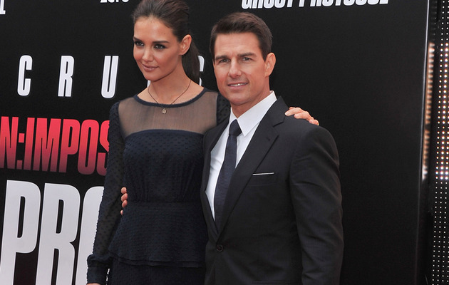 Tom Cruise & Katie Holmes Hit Red Carpet in NYC