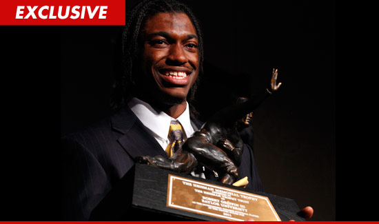 Robert Griffin III Heisman Trophy