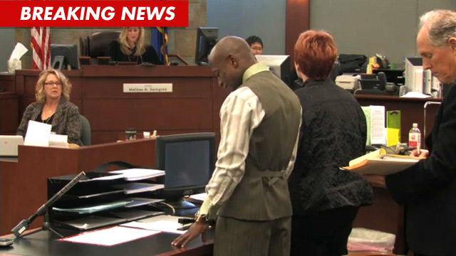 Floyd Mayweather in court