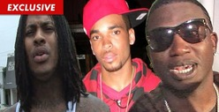 Waka Flocka & Gucci Mane -- Footing GIANT Funeral Bill for Murdered Slim Dunkin