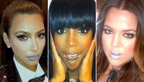 Celebrity Fashion Trend: Lip Tattoos