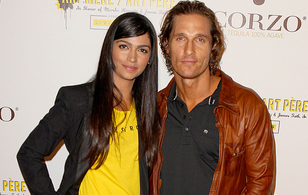 Matthew McConaughey Proposes To Camila Alves
