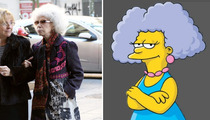 Spain's Duchess of Alba -- Marge Simpson's Sister?