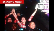 LaMichael James is Afraid of Space Mountain