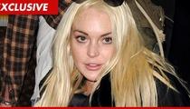 Lindsay Lohan -- Bodyguard Shopping After Trespassing Incident