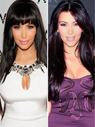 Kim Kardashian's New Bangs: Hair 'Do or Don't?