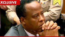 Dr. Conrad Murray -- Medical Board Makes Him Turn in Medical Certificate