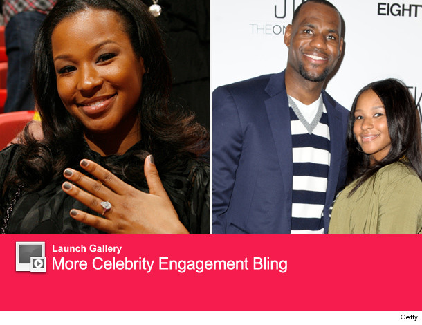 LeBron James: See His Fiancee's Massive Engagement Ring ...
