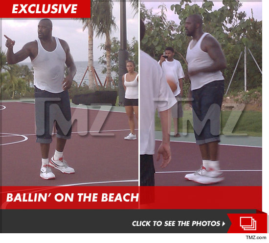 Shaquille ONeal in Anguilla