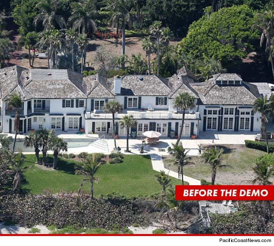 Tiger' Woods' ex-wife ELIN NORDEGREN demolishes $12 million North Palm Beach ...