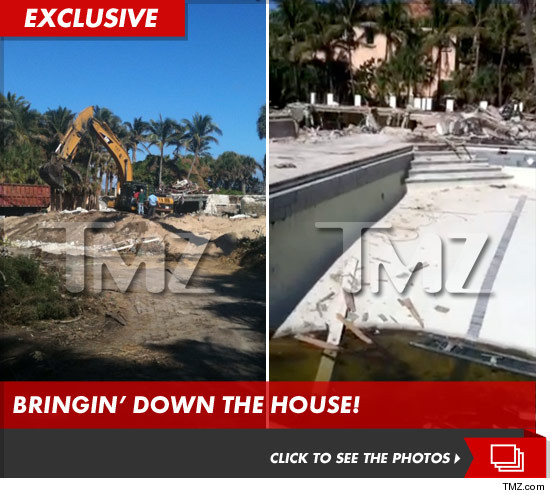 Elin Nordegren destroyed Florida home