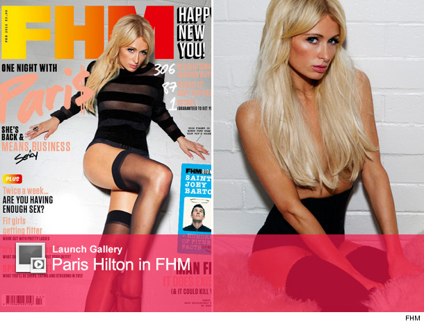 paris hilton fhm