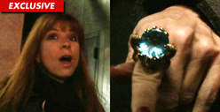 &#039;Real Housewives&#039; Jill Zarin -- Check Out My $19,000 Ring ... Courtesy of Elizabeth Taylor