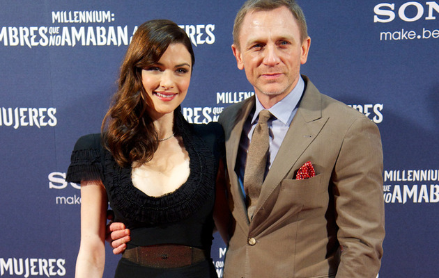 Daniel Craig Finally Hits Red Carpet with Rachel Weisz
