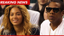 Beyonce and Jay-Z -- Increased Security Allegedly Kept Man from His Newborns