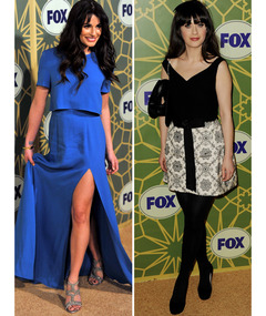 Lea Michele Shows Major Leg on Red Carpet